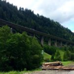 Brennerautobahn von unten