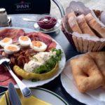 Frühstück, die kleine Portion