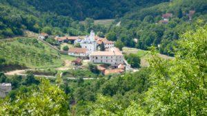 Kloster in Serbien