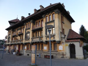Brasov historischer Bau