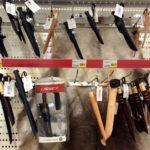 Messer im finnischen Supermarkt