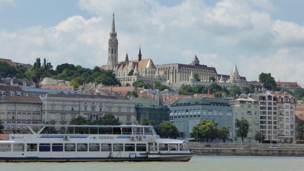Matthiaskirche, Donau, Donaudampfschiffartsboot