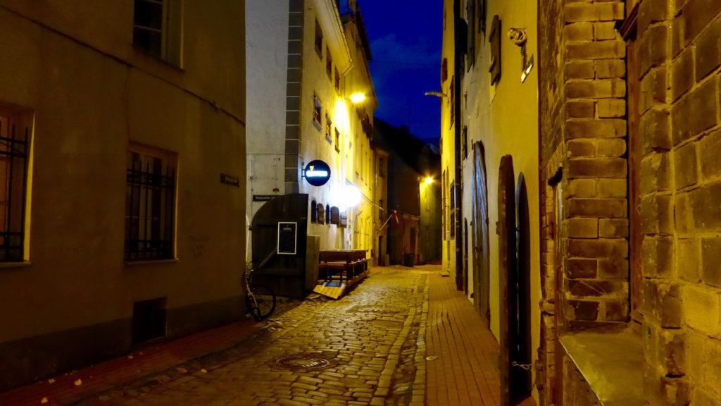 Gasse in Riga