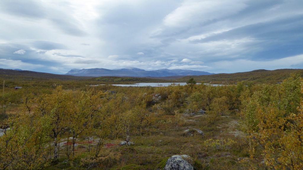 Tundra mit Gebirge