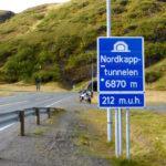 Nordkapptunnel südliche Einfahrt