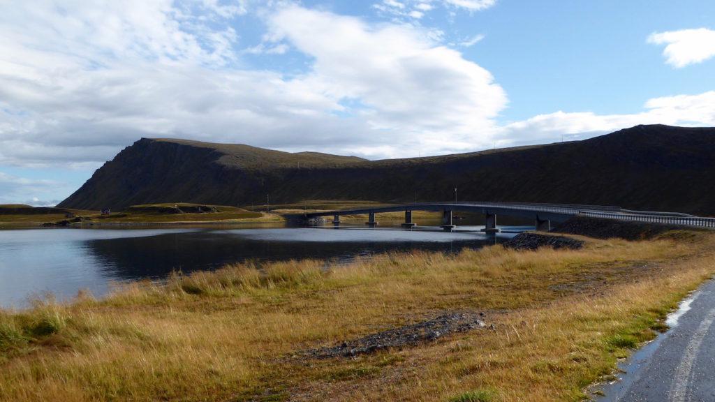 Nordkapptunnel nördliche Zubringerbrücke