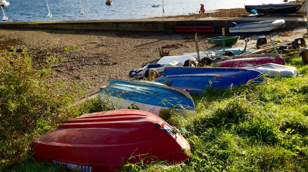 Boote am Meer