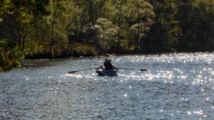 Angler auf Loch Farr