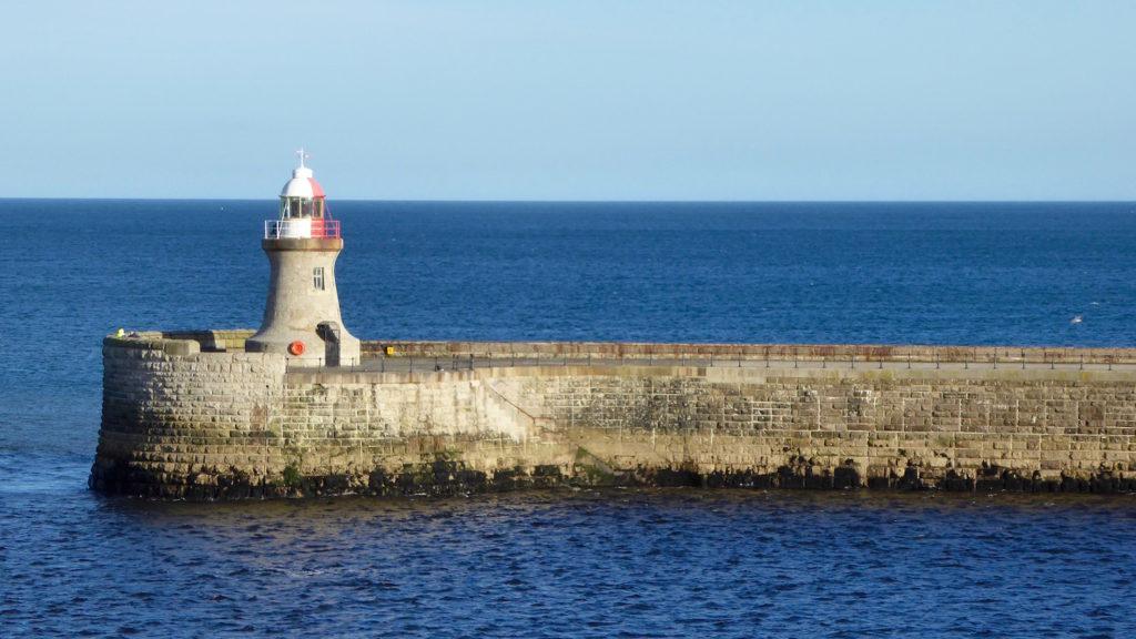 Leuchtturm Newcastle Hafen