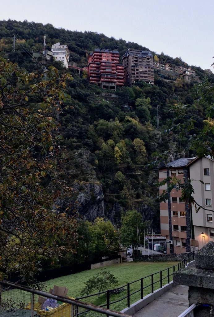 Hochhäuser in Andorra