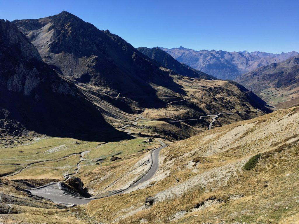 Aussicht vom Col du Tourmalet
