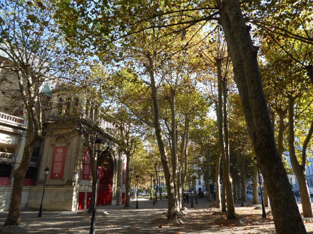 Plaza de Toros, Pamplona, Navarra, Spanien