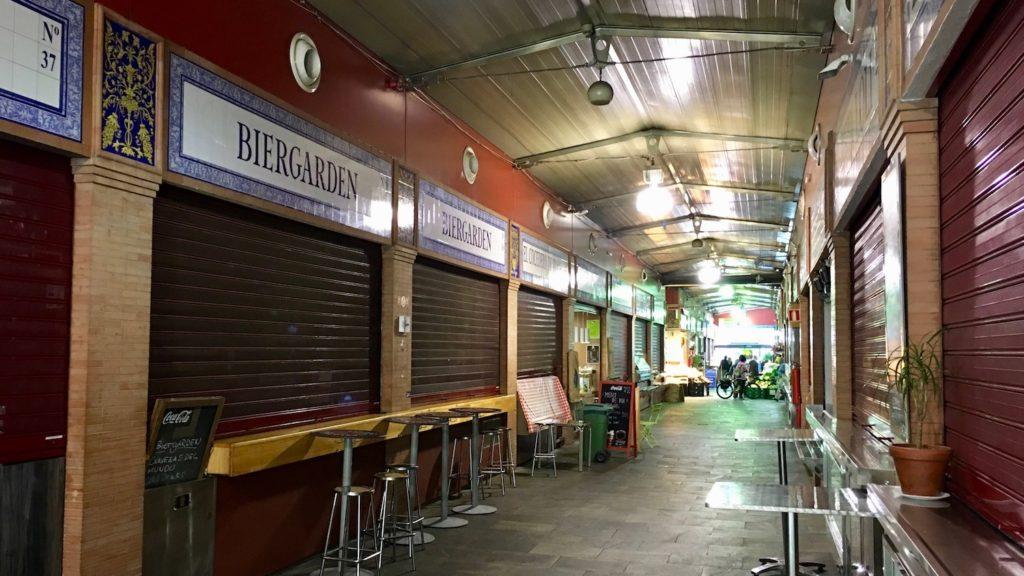 Mercado de Triana, Sevilla, Spanien