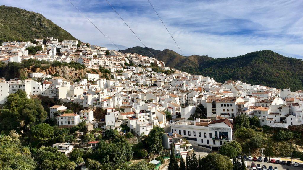 Ojén, Andalusien, Spanien