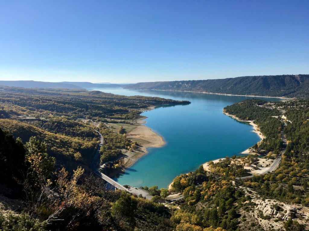 Lac de Sainte Croix, Provence-Alpes-Côte d'Azur, Frankreich