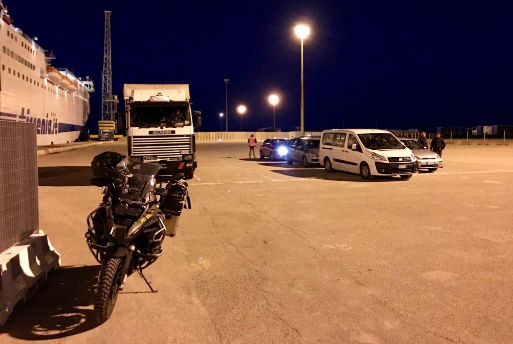 Novemberfähre von Porte Torres, Sardinien, Italien nach Genua, Italien