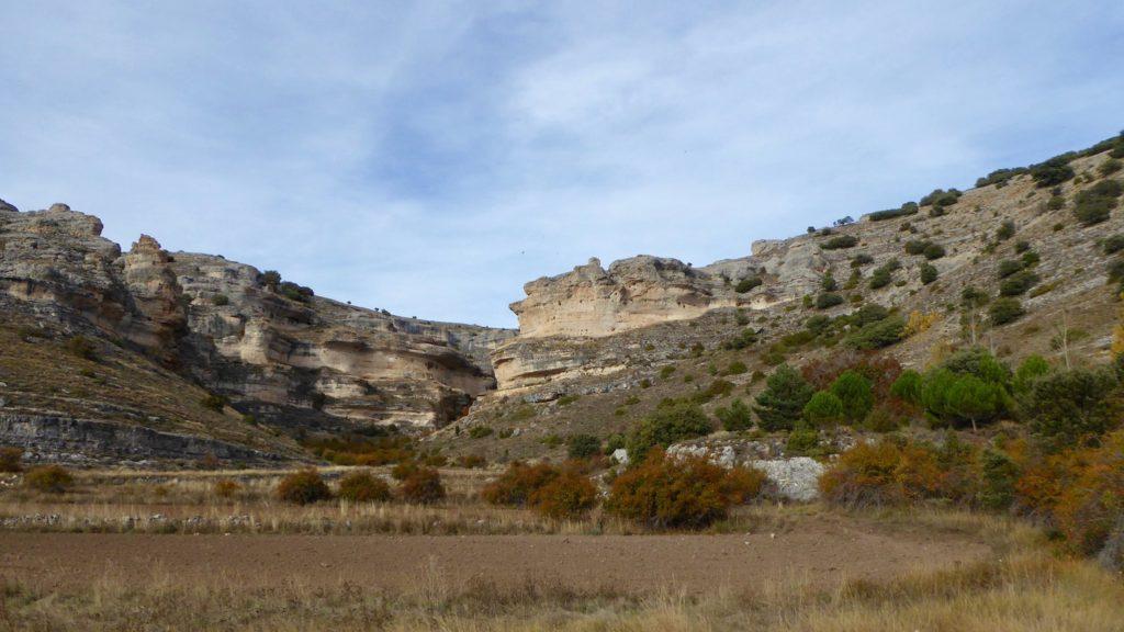 Felsen, Somolinos, Kastilien-La Mancha, Spanien
