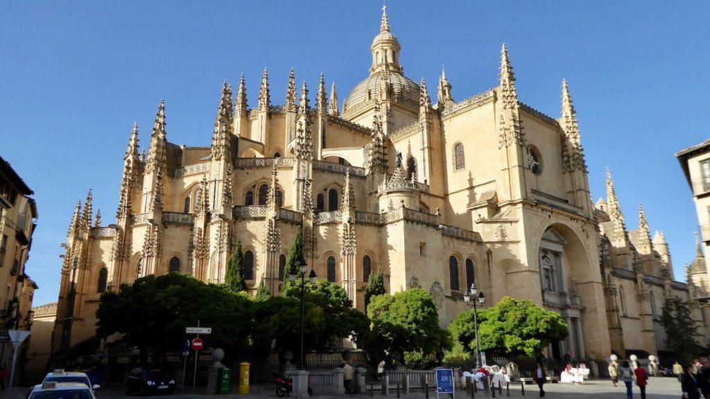 Kathedrale von Segovia bei Tag