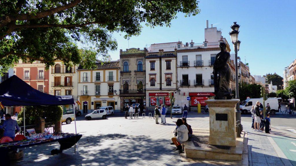 Plaza del Altozano, Sevilla, Spanien