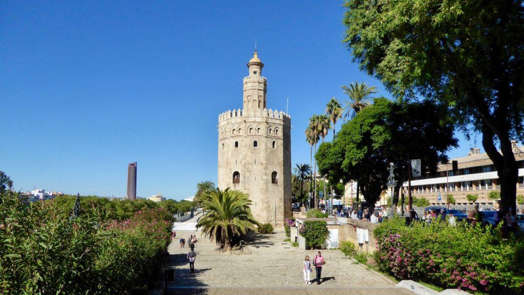 Torre del Oro, Sevilla, Spanien