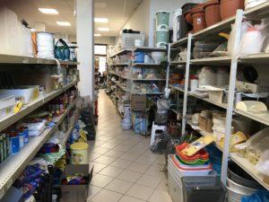 Landsupermarkt in Fonni/Sardinien