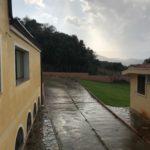 Regen und Wolken in Cardedu/Sardinien