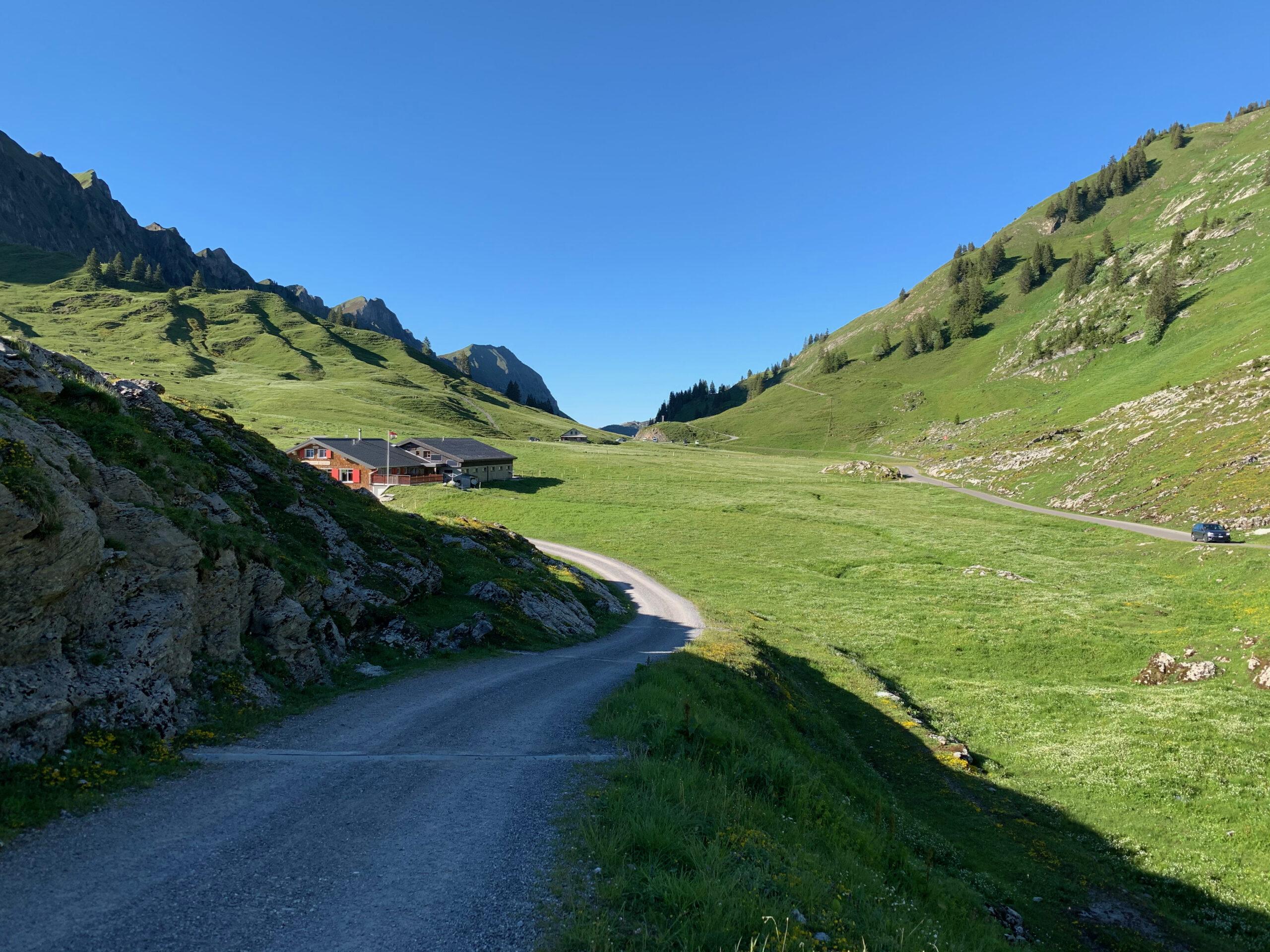 Pragelpass, Gaststube